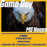 Middle School Hoops Game Day!
