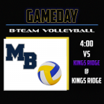 B-Team Volleyball faces off at Kings Ridge!