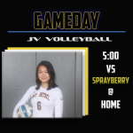 JV Volleyball Hosts Sprayberry!