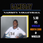 Varsity Volleyball travels to Wheeler for a Tri-match!