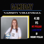 Varsity Volleyball TRIMATCH today at Mount Pisgah!