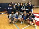 Varsity Volleyball Takes Second; Places Four on 6-A All-Region Team