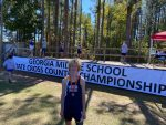 Boys Middle School Cross Country finishes 8th place at MS State Championships