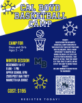 Sign Ups Open for Cal Boyd's Winter Hoops Camp
