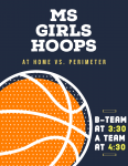 GAMEDAY: MS Girls Host Perimeter