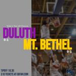 Game Day: Varsity Boys Battle Duluth