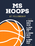 GAME DAY: Middle School Hoops at Fellowship