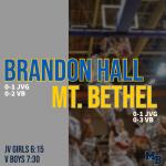 GAME DAY: Upper School Hoops Hosts Brandon Hall