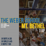 GAME DAY: Hoops Hosts The Weber School