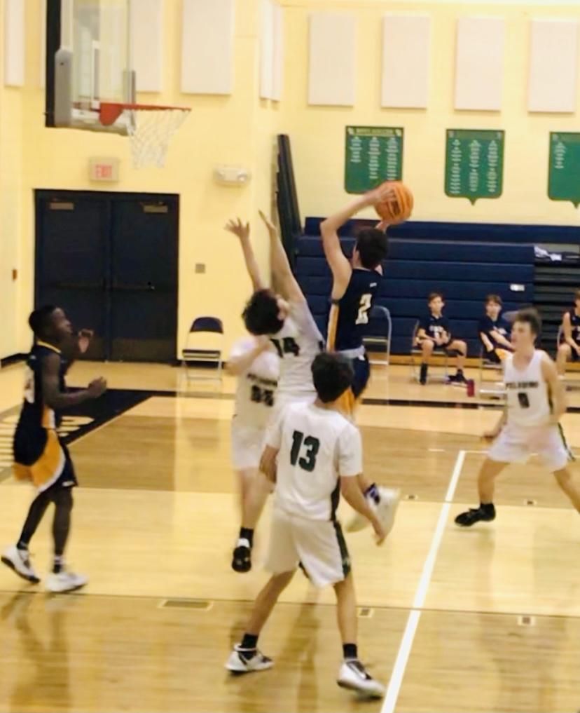 JV Basketball Falls To Pinecrest