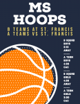 GAME DAY: MS Hoops Battle St. Francis