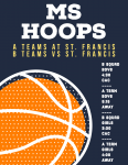 GAME DAY: MS Hoops Face St. Francis