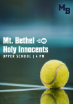 Match Day: MB Hosts Holy Innocents