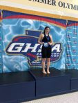Gucky Wins GHSA State Title in the 100m Backstroke