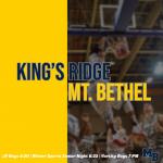 SENIOR NIGHT: MB Hosts King's Ridge