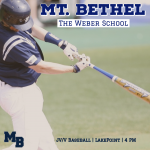 GAME DAY: Baseball Hosts Weber at LakePoint