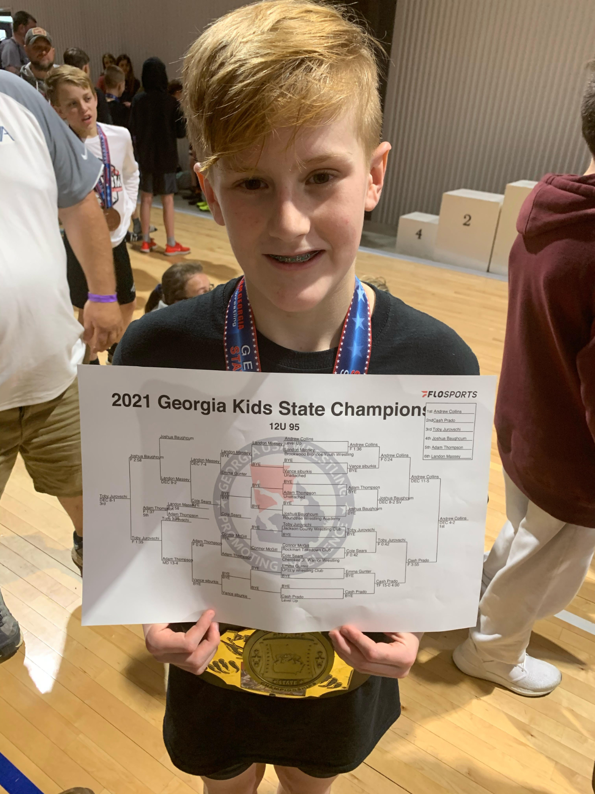 Collins Wins GA State Title