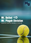 MATCH DAY: Varsity Tennis Travels to Face Mt. Pisgah