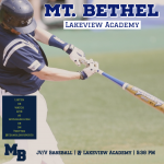 GAME DAY: Baseball Travels to Face Lakeview Academy