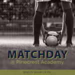 MATCH DAY: Boys Soccer Faces Pinecrest