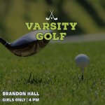 LINKS DAY: Girls Varsity Golf Battles Brandon Hall