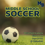 MATCH DAY: MS Soccer Travels to Face Whitefield