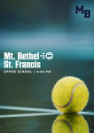 MATCH DAY: Tennis Hosts St. Francis