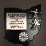 Varsity Soccer Finishes 4th in State