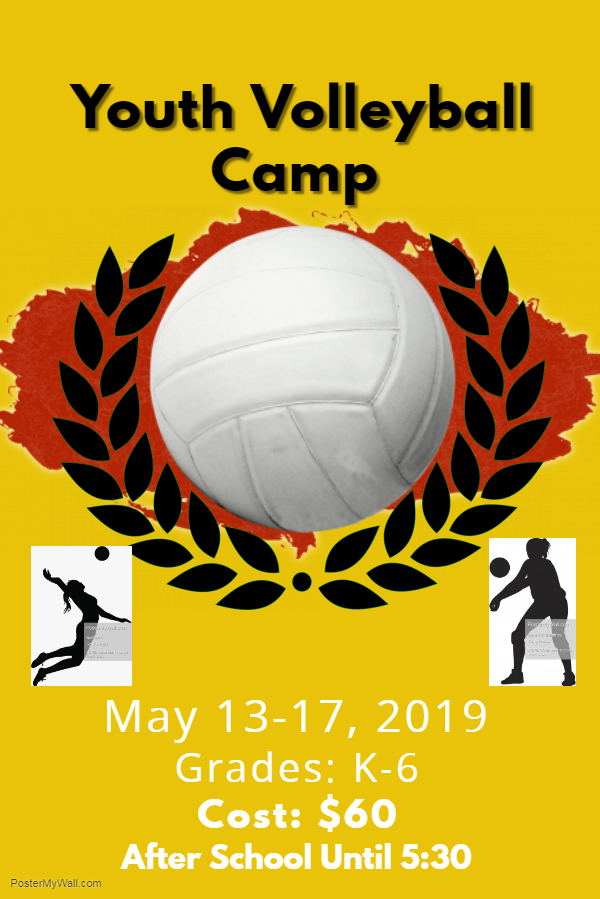 Youth Volleyball Camp Registration Deadline Coming Soon!