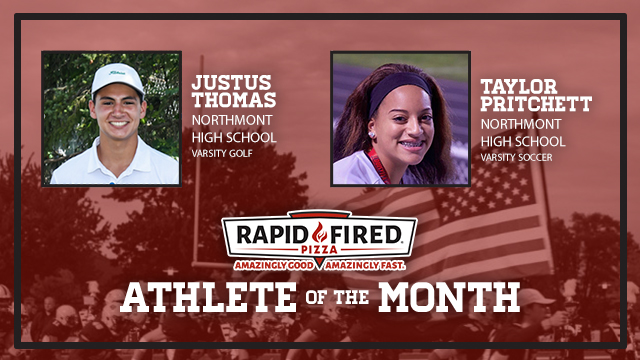 And the Rapid Fired Pizza August Athlete of the Month is…