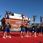Cheer Performs at Cards Game