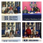 Luby, Peterson, Evans, & Winkler Sign Letters of Intent