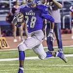 Keller rushes for 447 yards, seven TDs as Hawks roll to district final
