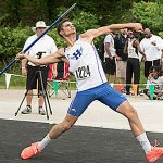 HILLSBORO'S MARTIN CAPS BUSY DAY, WINS JAVELIN