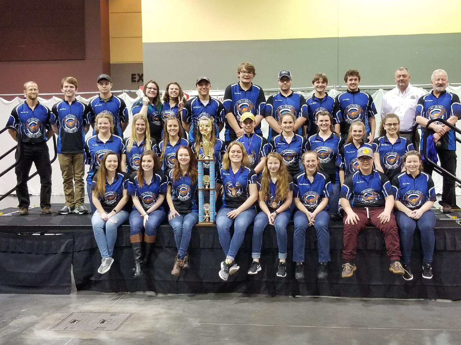 High School Archers win 2018 State Championship