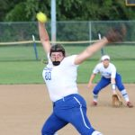 HILLSBORO VARSITY SOFTBALL SHUTS OUT FARMINGTON AS MUDD STEALS THE SHOW