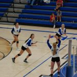 Varsity Hawks Serve Up a Two-Set Victory Over Union