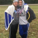 Hillsboro Varsity Girls Cross Country Finishes in Third at JCAA Meet; Wright & Barton are All-Conference