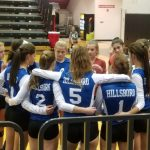 Hawks Down Sikeston in Two Sets in District Opener; Tangle With Farmington in Semis