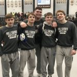 Five Hawks Earn State Tournament Berths at District Wrestling Tournament