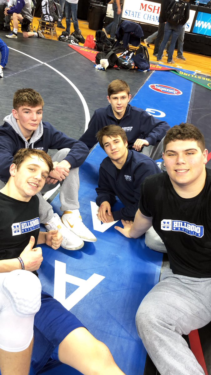 Hillsboro Wrestling Team Totals 27 Points at State for 25th Place Finish