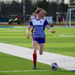 Theiss Tallies Two Goals as Varsity Hawks Soccer Downs Farmington