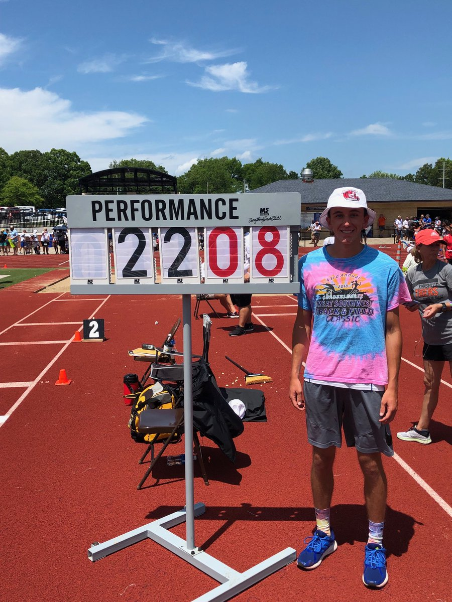 Readnour Places Third at State in the Long Jump; Ends Career With School Record