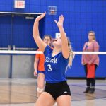 Hawks Close Out Varsity Volleyball Regular Season With a Split