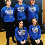 Hillsboro Lady Grapplers Earn Five Medals at John Burroughs Tournament