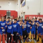 Freshman Hawks Go 4-0 in Duals in Freshman Tournament at Kirkwood