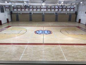 West Gym Floor Resurfacing