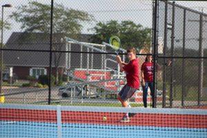 Boys Tennis vs. Lowell 8/15/17