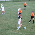Girls Varsity Soccer beats Westville 3 – 17
