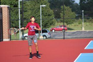 Boys Tennis vs. River Forest  8/22/17